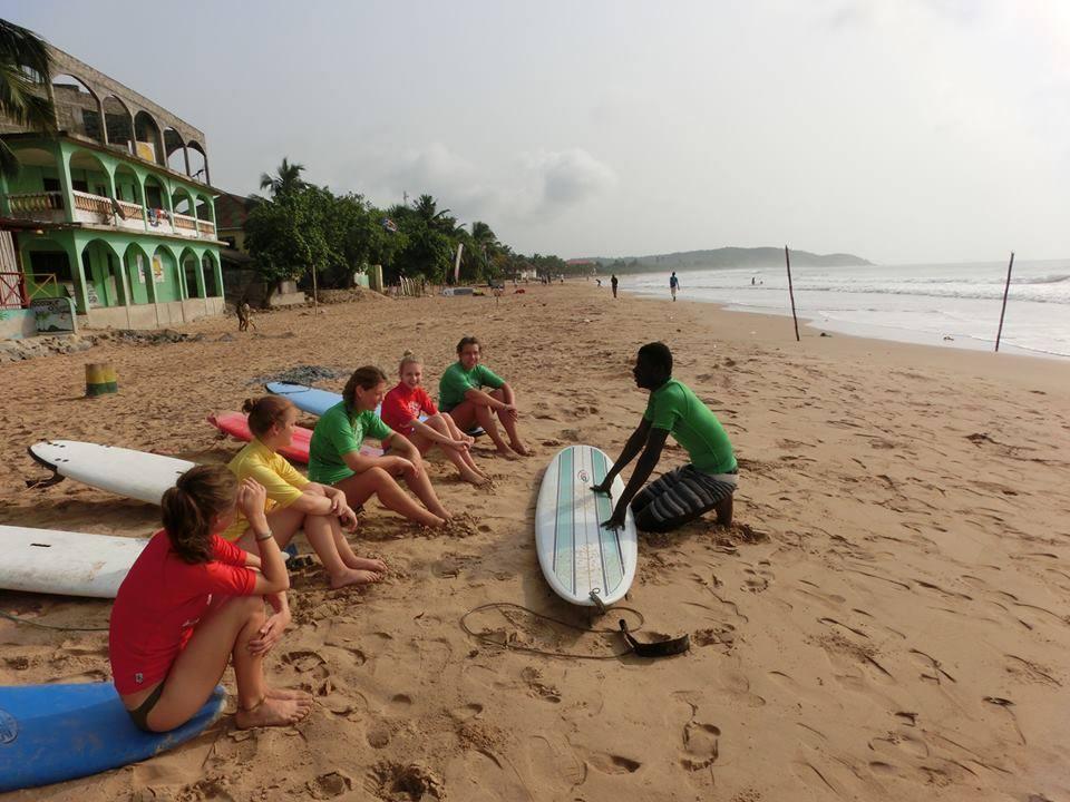 Surf School Ghana
