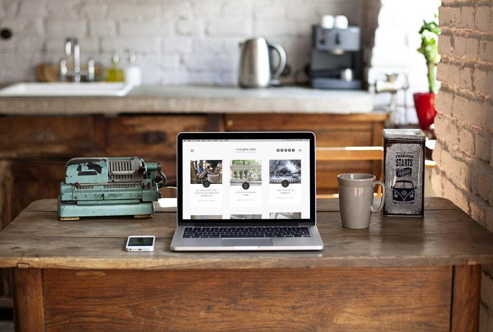 design + copy // Rural Gone Urban blog