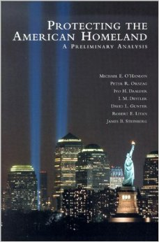 Protecting the American Homeland: A Preliminary Analysis  (Brookings Institution Press, 2002), with Ivo Daalder, Mac Destler, David Gunter, Robert Litan, Michael O'Hanlon, James Steinberg.  Written shortly after the September 11th terrorist attacks, this book analyzes how homeland security could improve to protect the safety of Americans against future offenses.