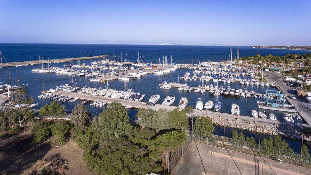 Marina di Capitana - berths and boats
