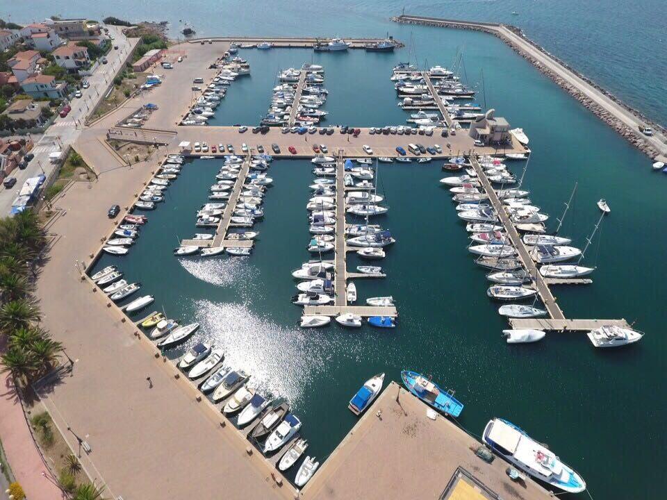 Marina di Portoscuso - Yachthafen Sardinia near Cagliari, Italy