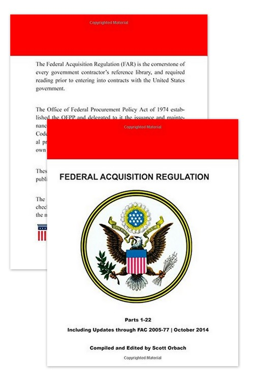Federal Acquisition Regulation Book