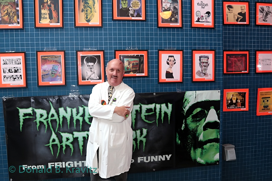 New Jersey's largest collection of Frankenstein art Curator Ron MacCloskey