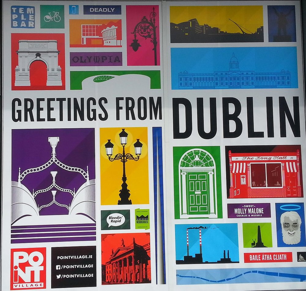 #GreetingsfromDublin