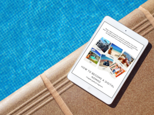 How To Become A Digital Nomad - In this ebook I share my experience from starting a side hustle while working 50 hours per week to quitting the corporate life and living the laptop lifestyle.