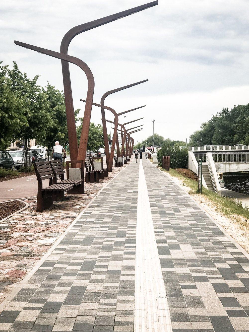 Jelgava promenade
