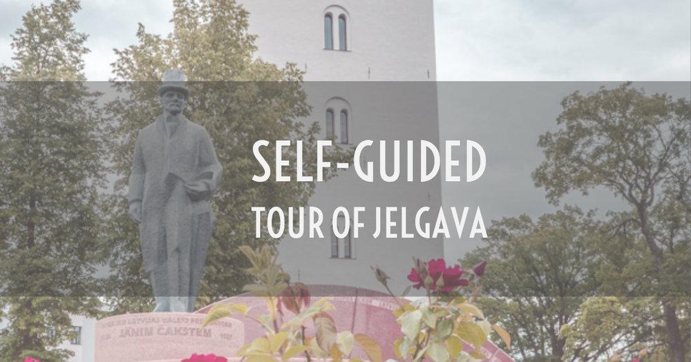 jelgava self guide tour