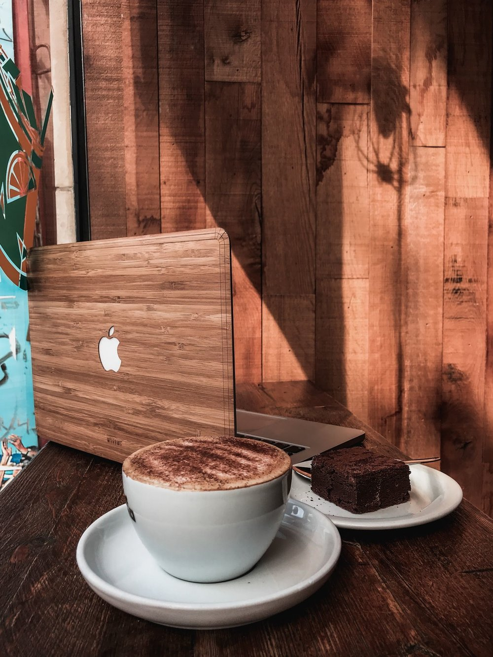 woodwe laptop skin cover