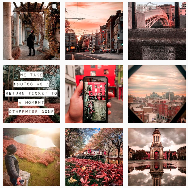 fall preset Instagram