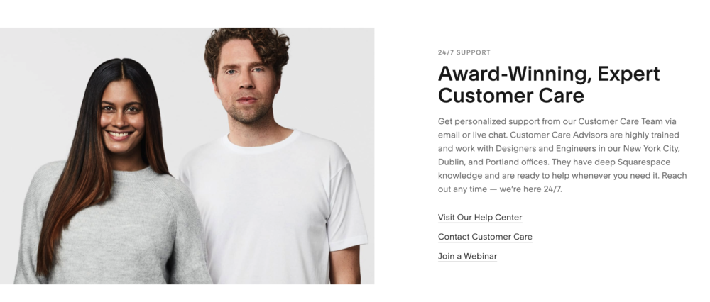 Squarespace Customer Service - AlexandreKan