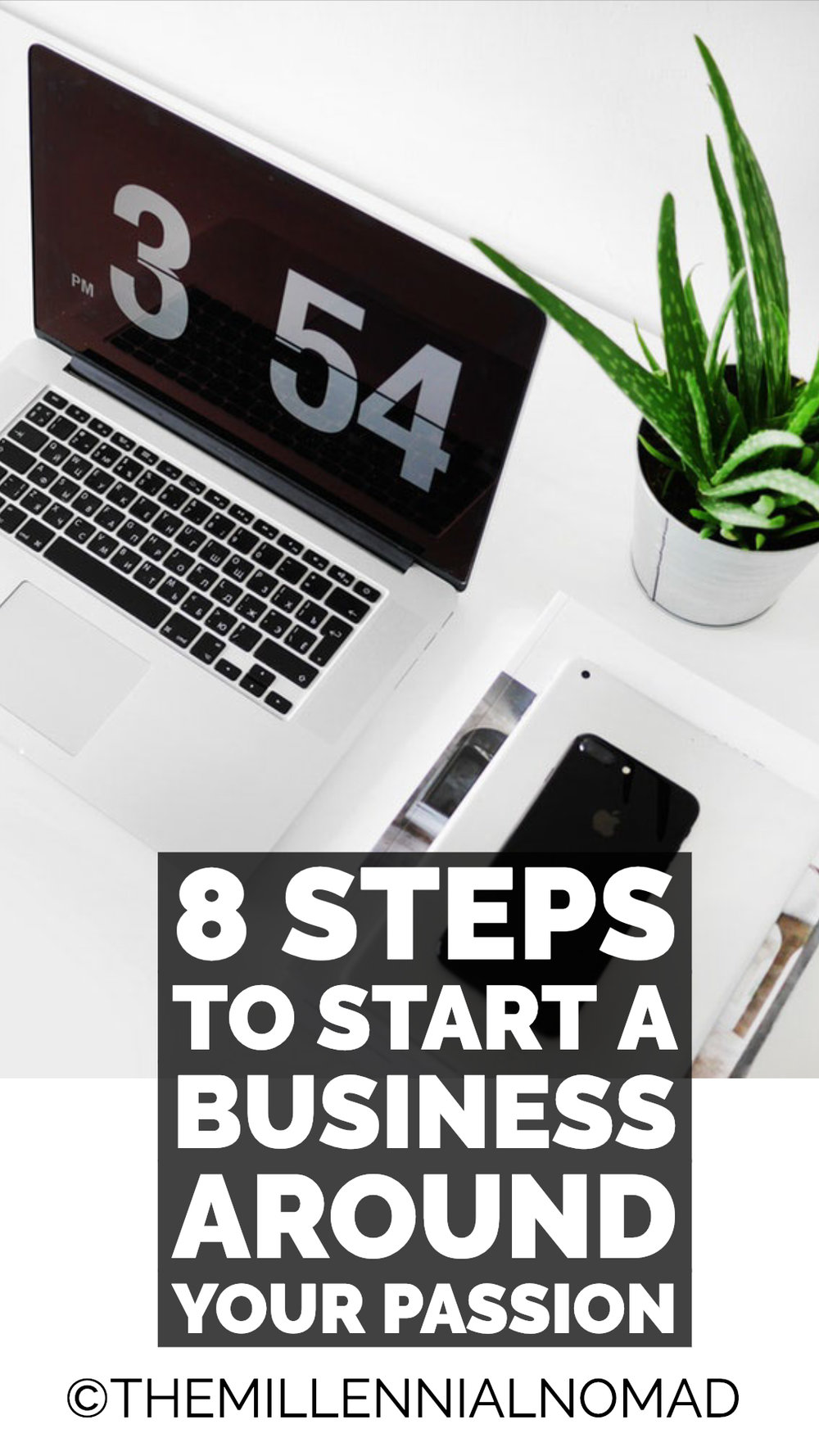 It's never been easier to start an online business and earn a living online than today. If you check on Instagram or youtube, you will notice more and more millennials turning their passion into profit thanks to the Internet.  You can either become a freelancer or run your own online business. But the most important is that you become financially and location independent.  So if you are still thinking about how to start your side hustle, let me share with you these 8 tips.