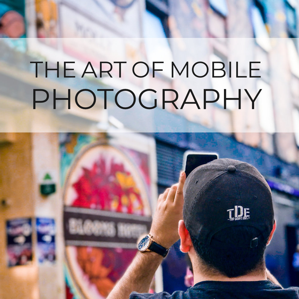Learn How To Take Better Photos With Your Smartphone - Get access to my FREE online photography course and 2 months of unlimited classes on Skillshare.
