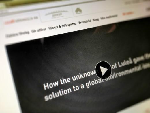 Luleå Näringsliv webbplats