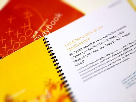 Luleå Näringsliv - Playbook 2013