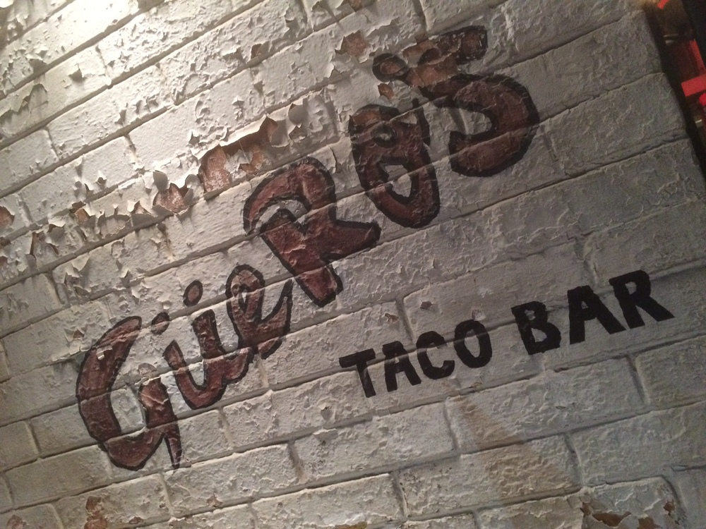 Middag: Guero's – Tacos och Margaritas av högsta klass.