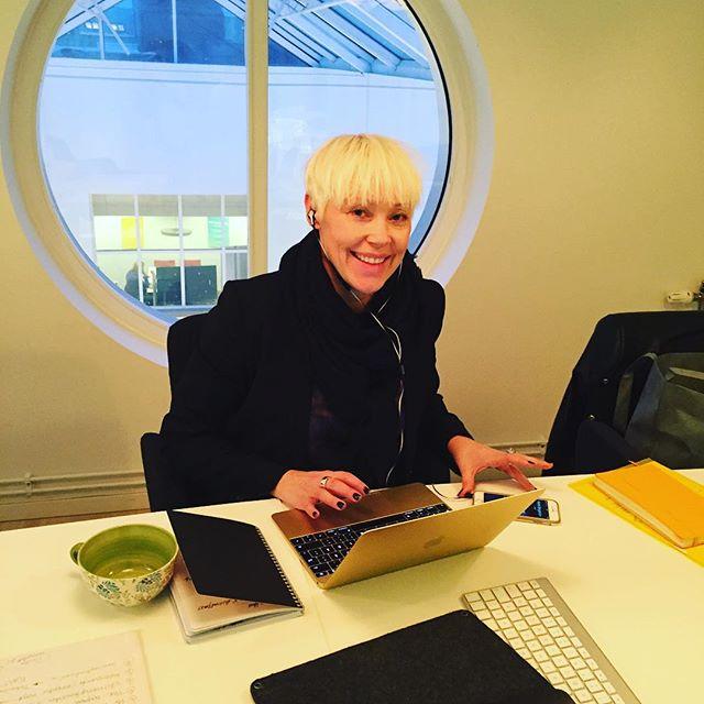 Finjobb tillsammans med @sivkarinmartina på @pratpr i #göteborg idag.
