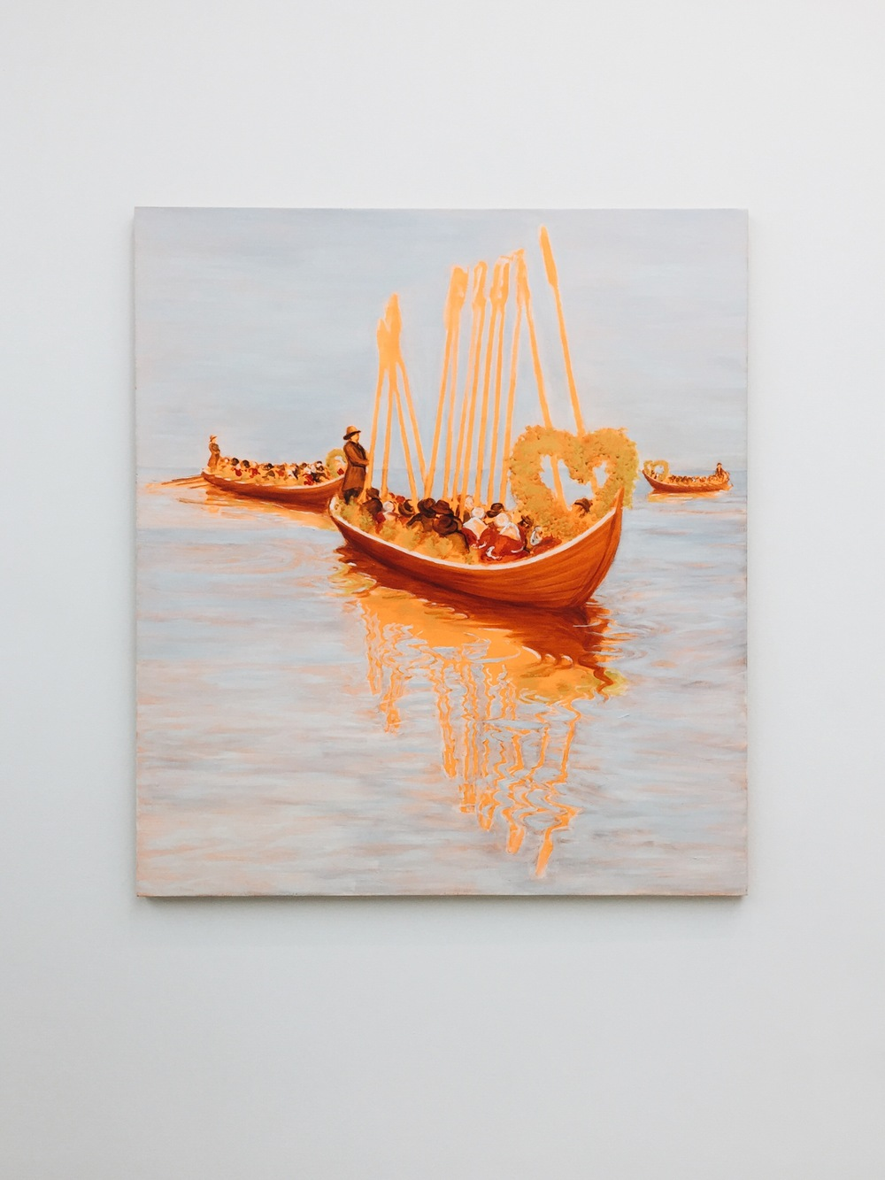 Church Boats by Sigrid Holmwood, 2007