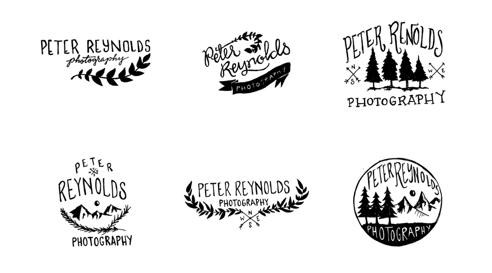 Peter Reynolds Photography � Logo Sketches and Drafts | Sea of Atlas