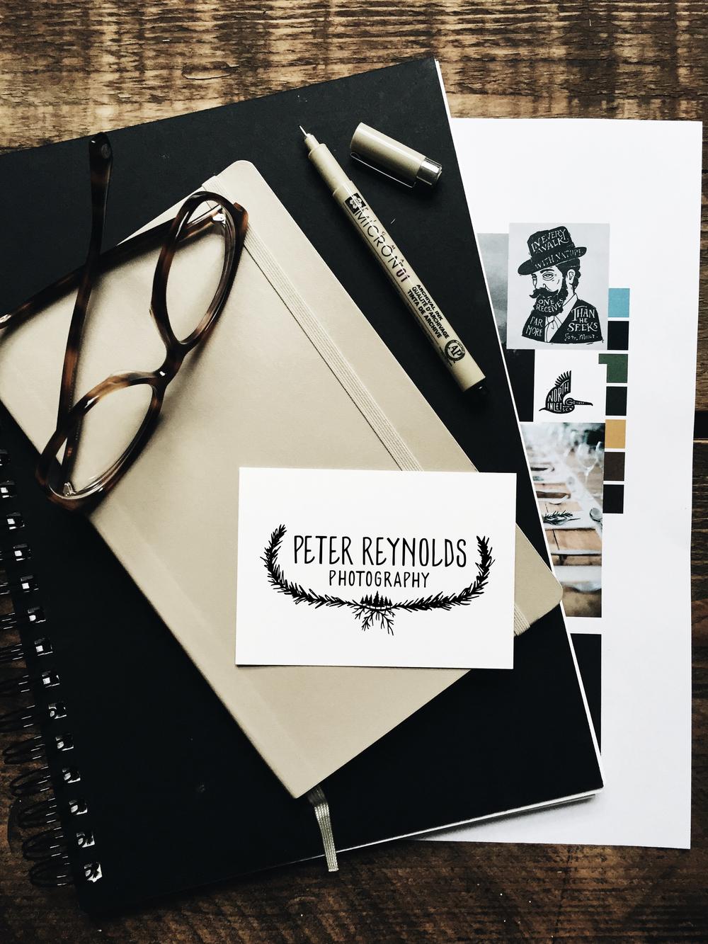 Peter Reynolds Photography: Logo Reveal | Sea of Atlas