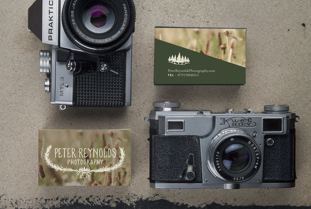 Peter Reynolds Photography: Business Cards | Sea of Atlas