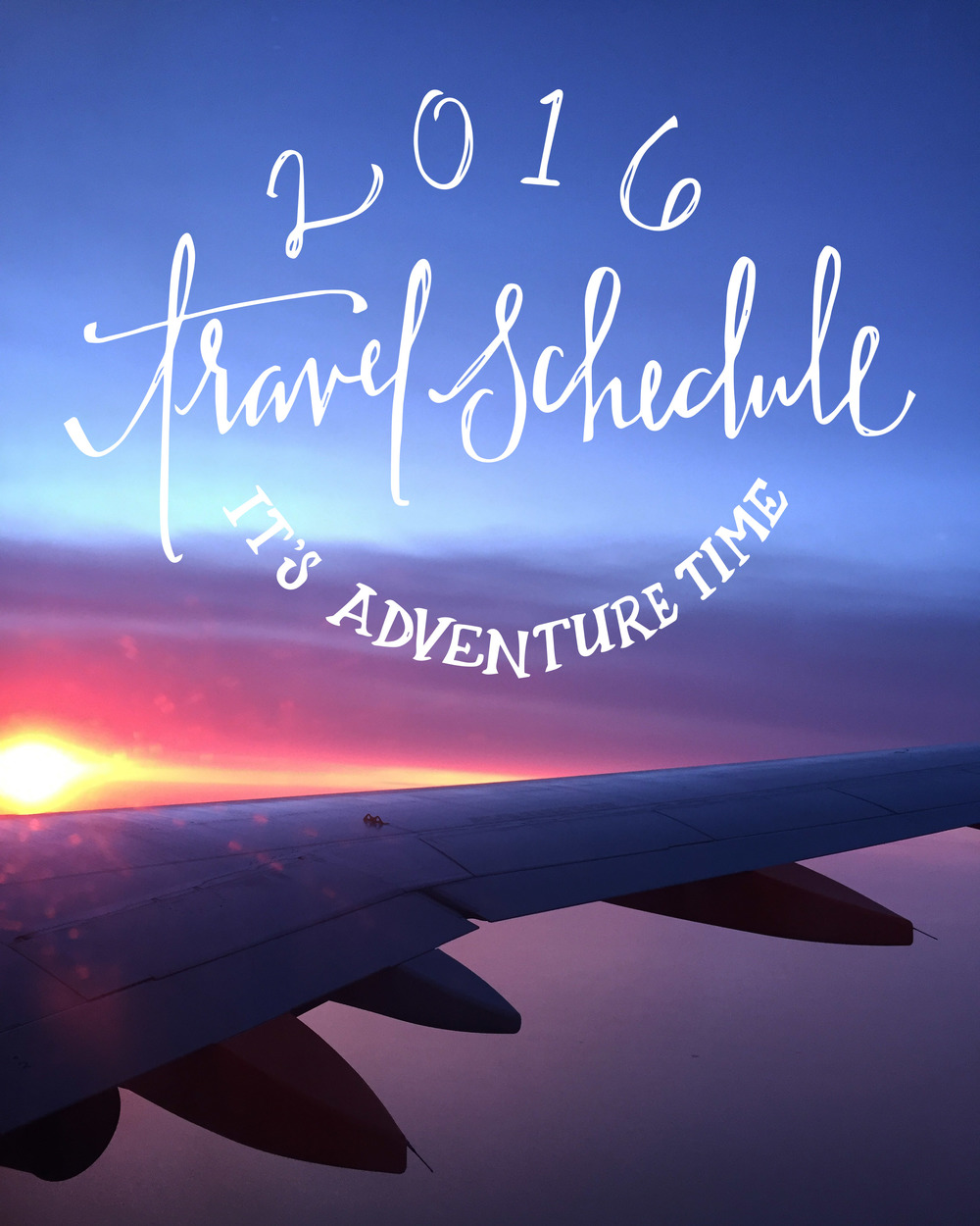 Our 2016 Travel Schedule | Sea of Atlas