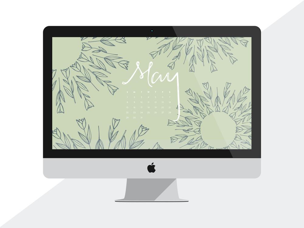 Desktop Wallpaper: May 2016 Calendar | Sea of Atlas