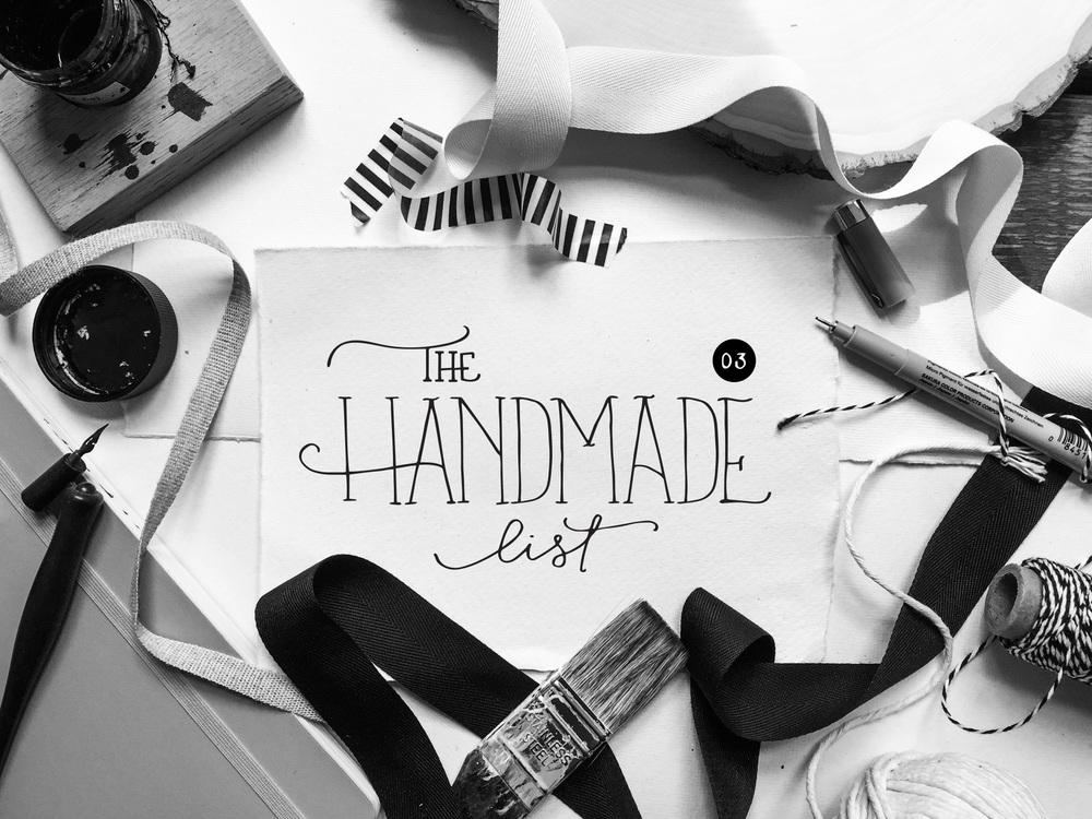 The Handmade List 03 | Sea of Atlas