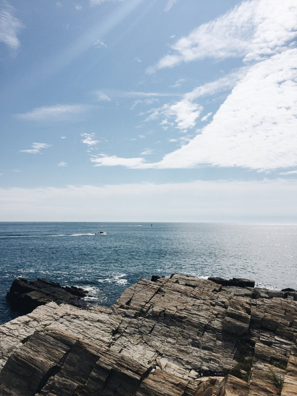 Portland Head Light | Portland, Maine | Sea of Atlas