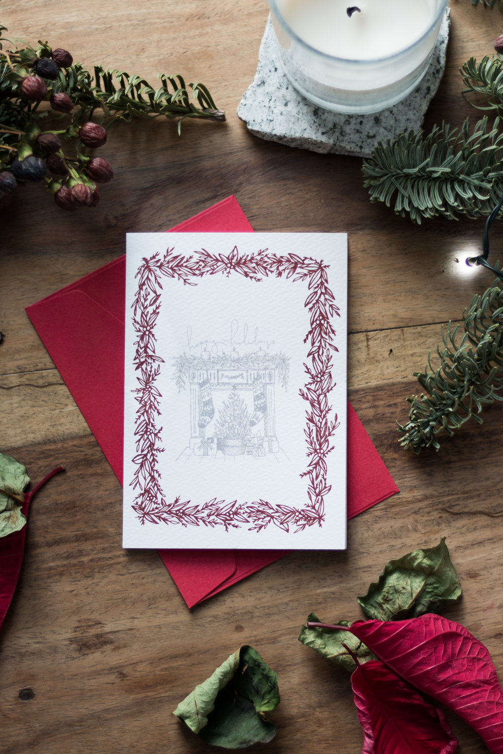 Sending Love With Our 2016 Holiday Cards | Sea of Atlas