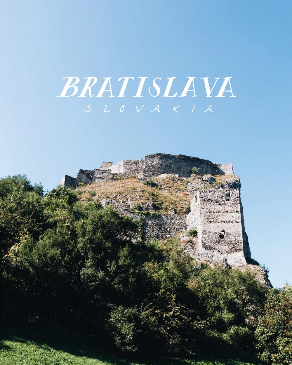 Bratislava, Slovakia | 2016 Sea of Atlas Travel Recap