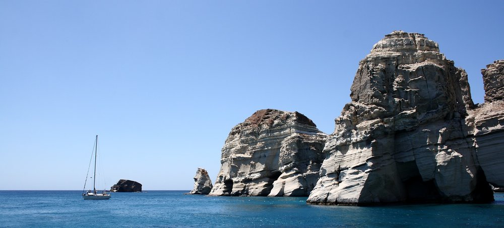 Travel Destinations: Our 2017 Schedule | Milos, Greece | Sea of Atlas