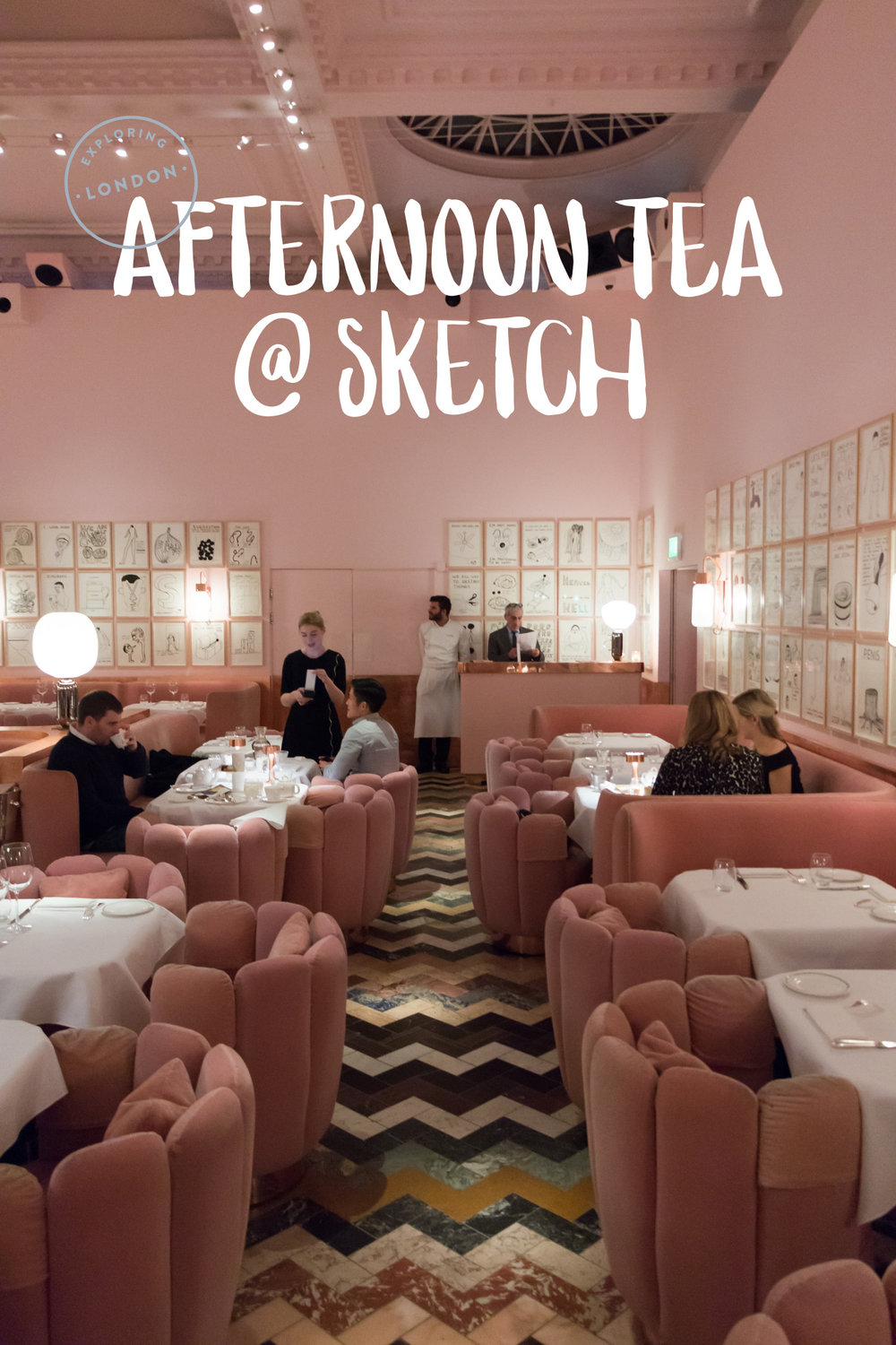Exploring London: Afternoon Tea At Sketch | Sea of Atlas