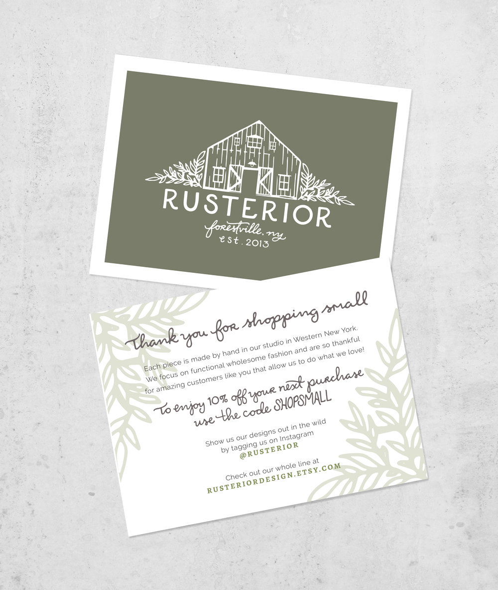 Logo & Branding Reveal: Rusterior | Sea of Atlas