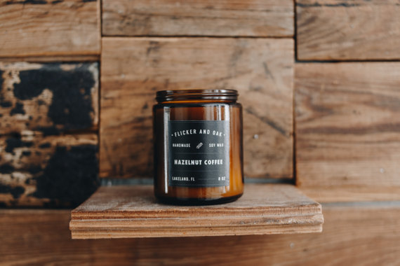 The Handmade List: Soy Candles | Flicker and Oak | Sea of Atlas