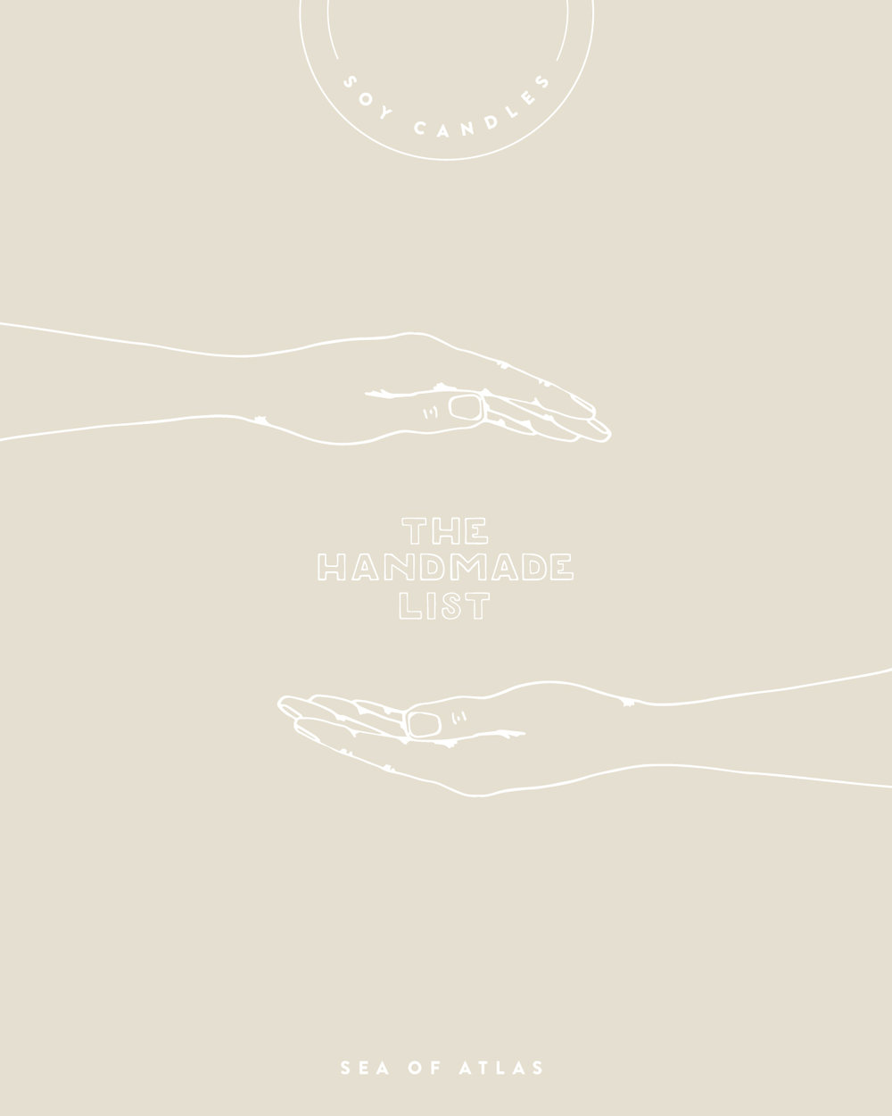 The Handmade list: Soy Candles | Sea of Atlas