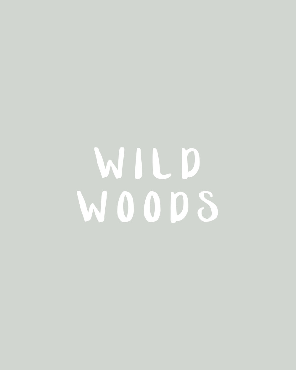 In The Shop: Handmade Fonts | Wild Woods by Britt Fabello | Sea of Atlas
