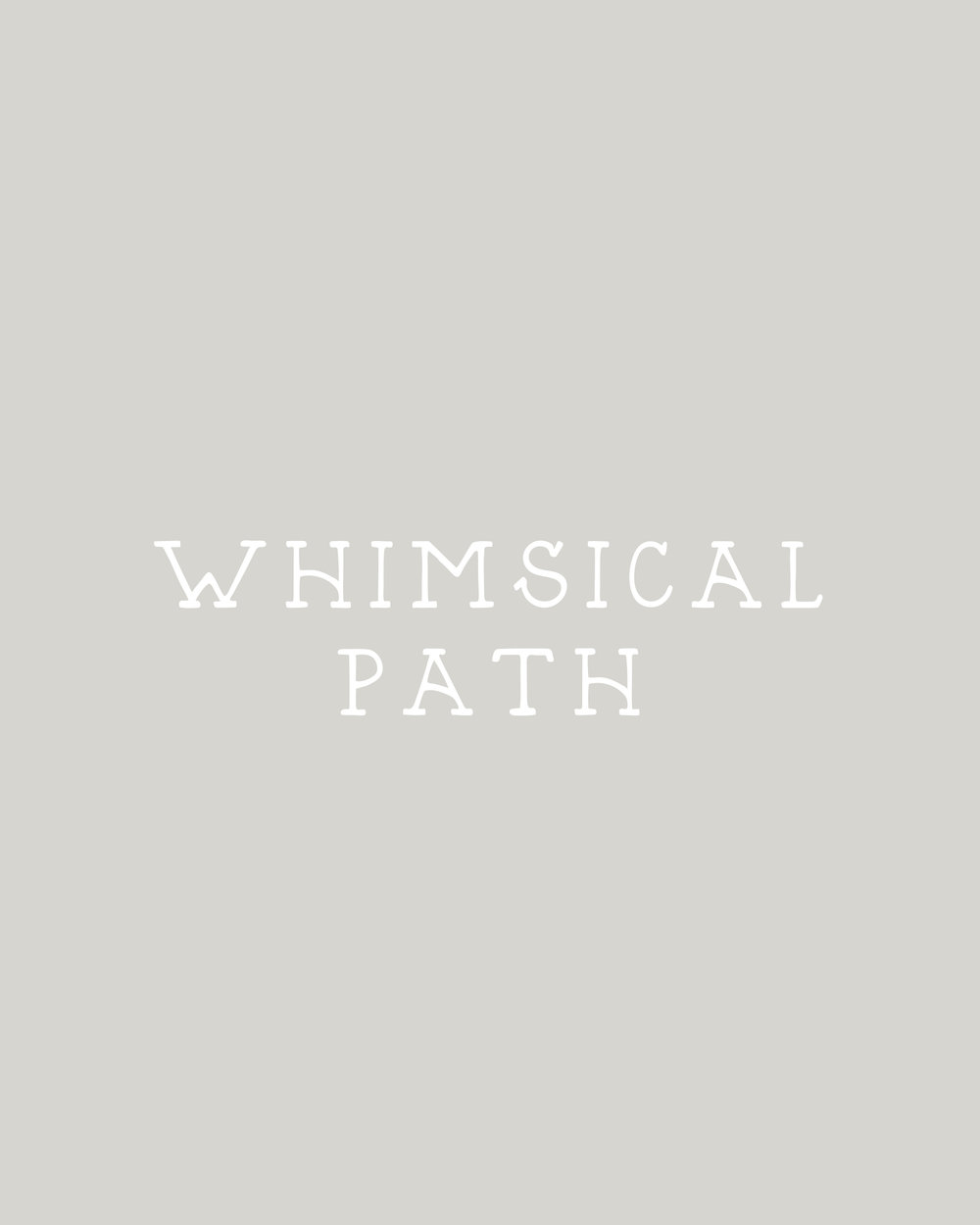 In The Shop: Handmade Fonts | Whimsical Path by Britt Fabello | Sea of Atlas