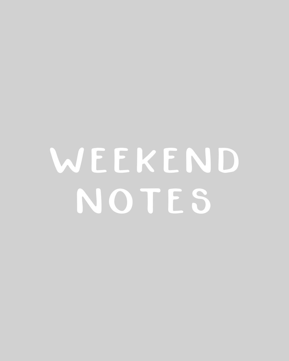 In The Shop: Handmade Fonts | Weekend Notes by Britt Fabello | Sea of Atlas