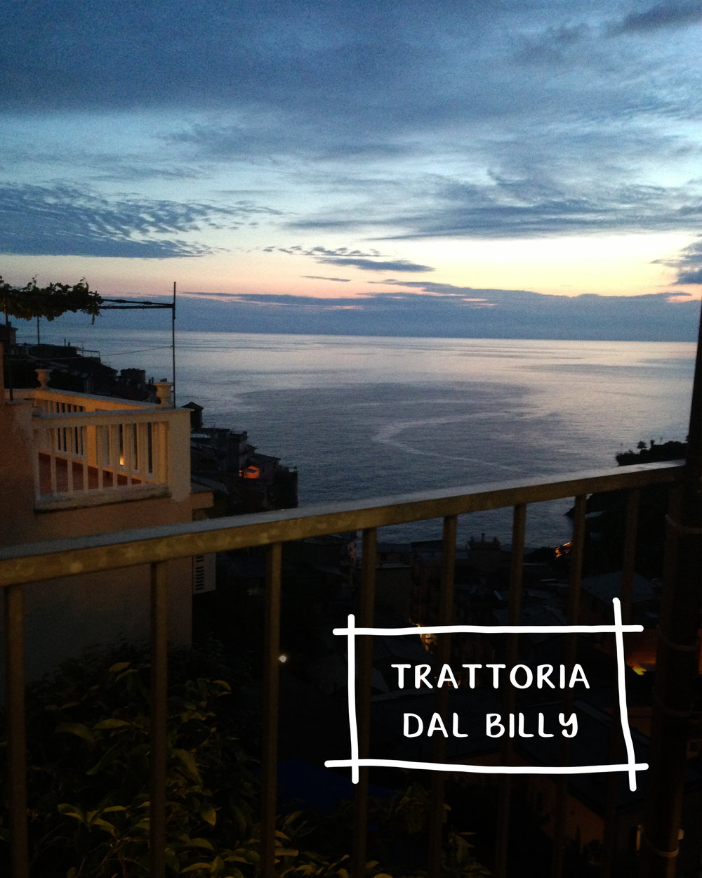 Five Restaurants In Europe For A Unique & Authentic Experience | Trattoria dal Billy, Manarola Italy | Sea of Atlas