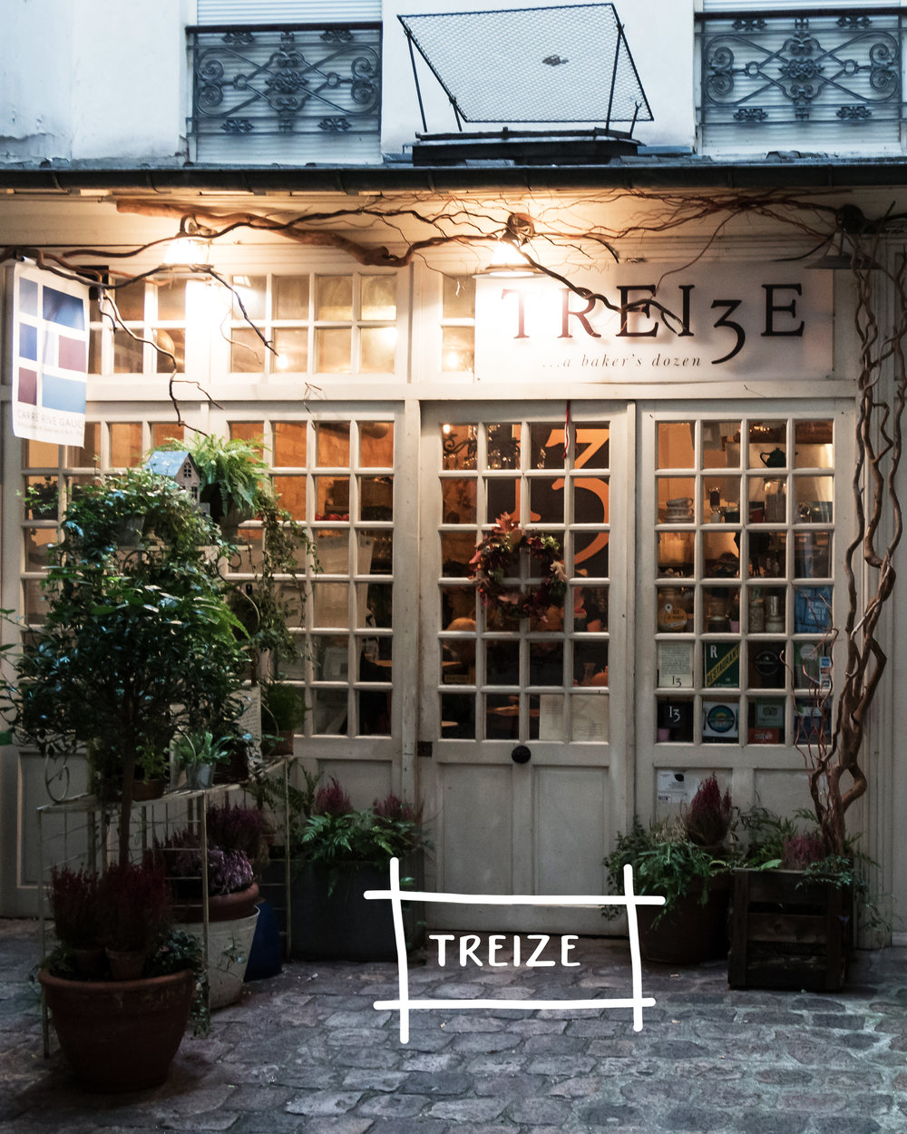 Five Restaurants In Europe For A Unique & Authentic Experience | Treize, Paris France | Sea of Atlas