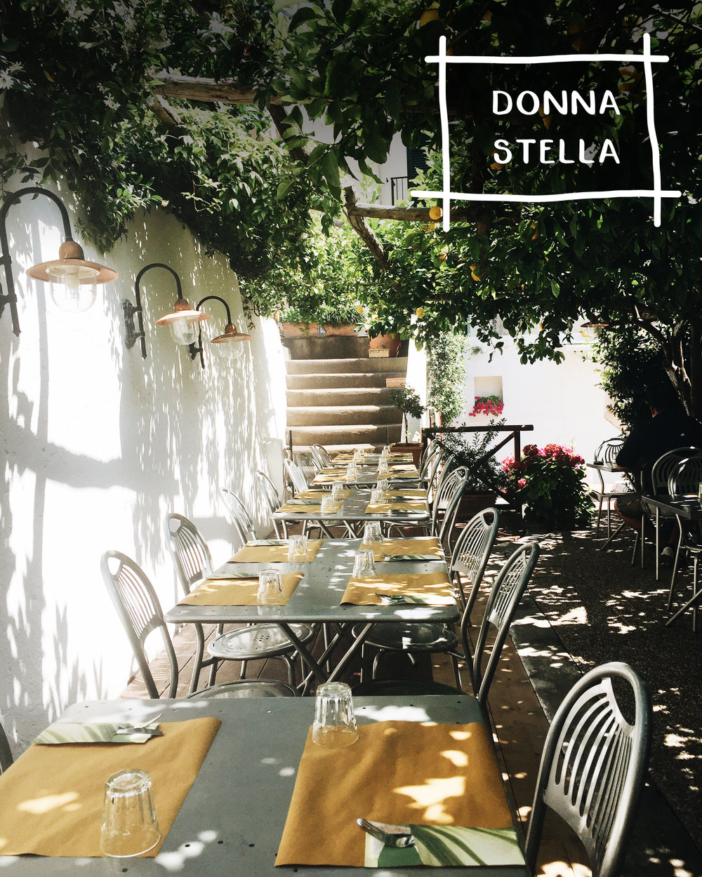 Five Restaurants In Europe For A Unique & Authentic Experience | Donna Stella, Amalfi Italy | Sea of Atlas