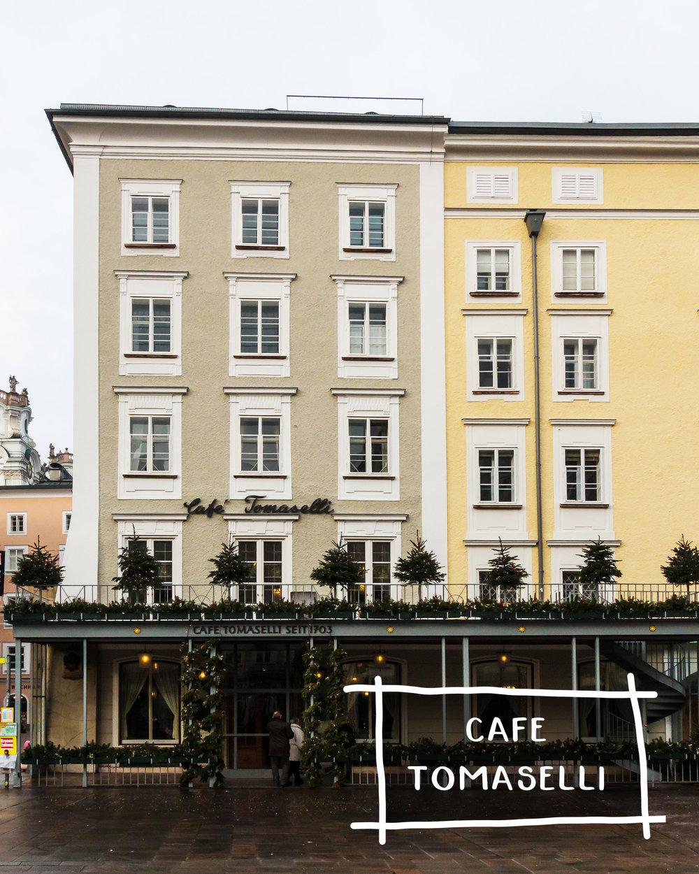Five Restaurants In Europe For A Unique & Authentic Experience | Cafe Tomaselli, Salzburg Austria | Sea of Atlas