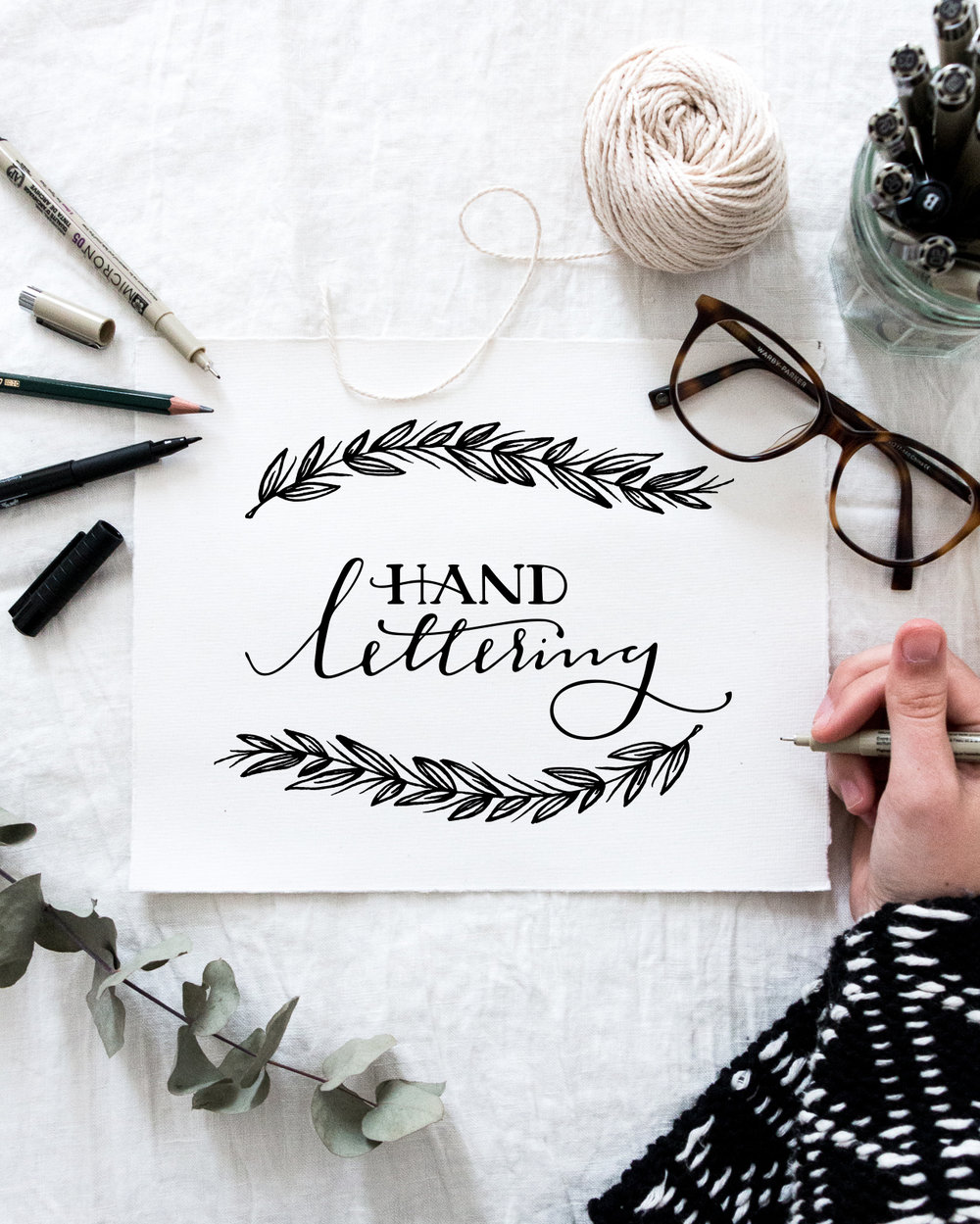 Learn Hand Lettering At The Creating for Good Creative Conference | Britt Fabello | Sea of Atlas
