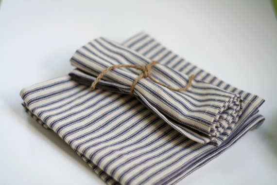 The Handmade List: Cloth Napkins | Little Blu Nest | Sea of Atlas