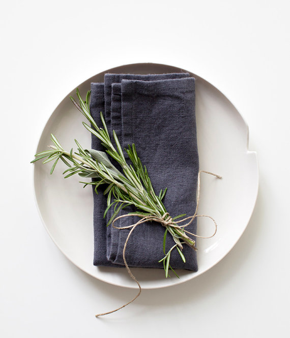 The Handmade List: Cloth Napkins | Linen Tales | Sea of Atlas