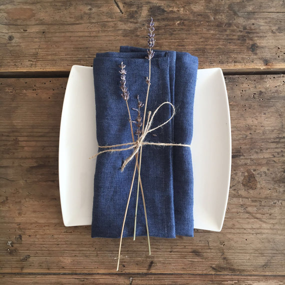The Handmade List: Cloth Napkins | Linenbee | Sea of Atlas
