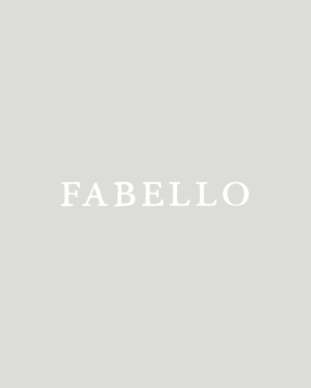 The Story Behind The Fabello Handmade Font | Britt Fabello | Sea of Atlas