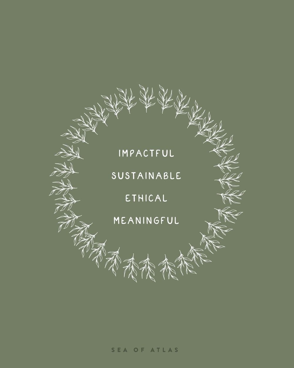 Directional Shift: Sustainable Living | Sea of Atlas