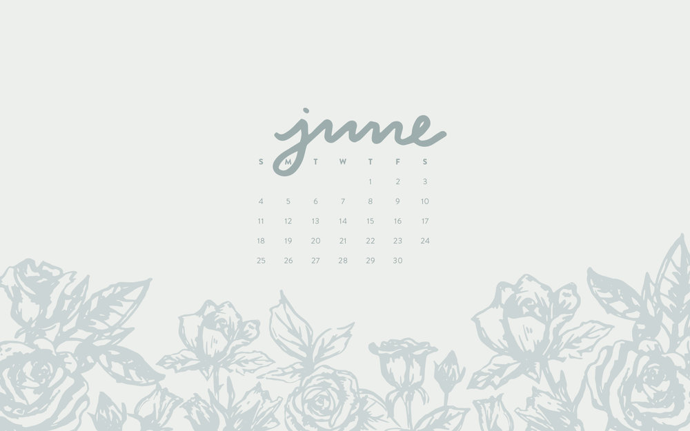 Desktop Wallpaper: June 2017 Calendar   Sea of Atlas