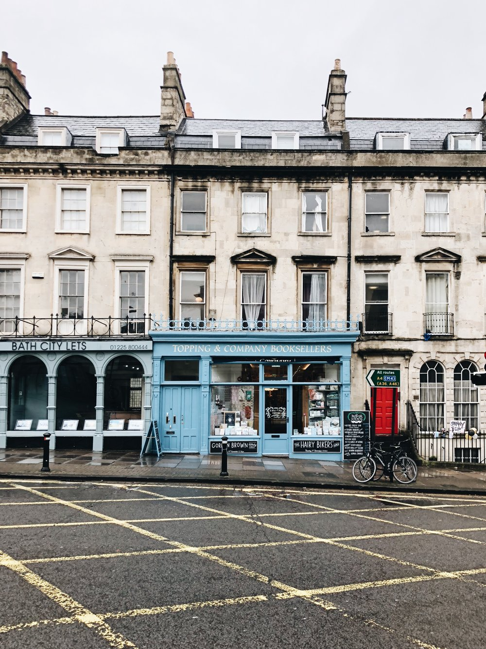 Topping & Company Booksellers | Bath, England | Sea of Atlas
